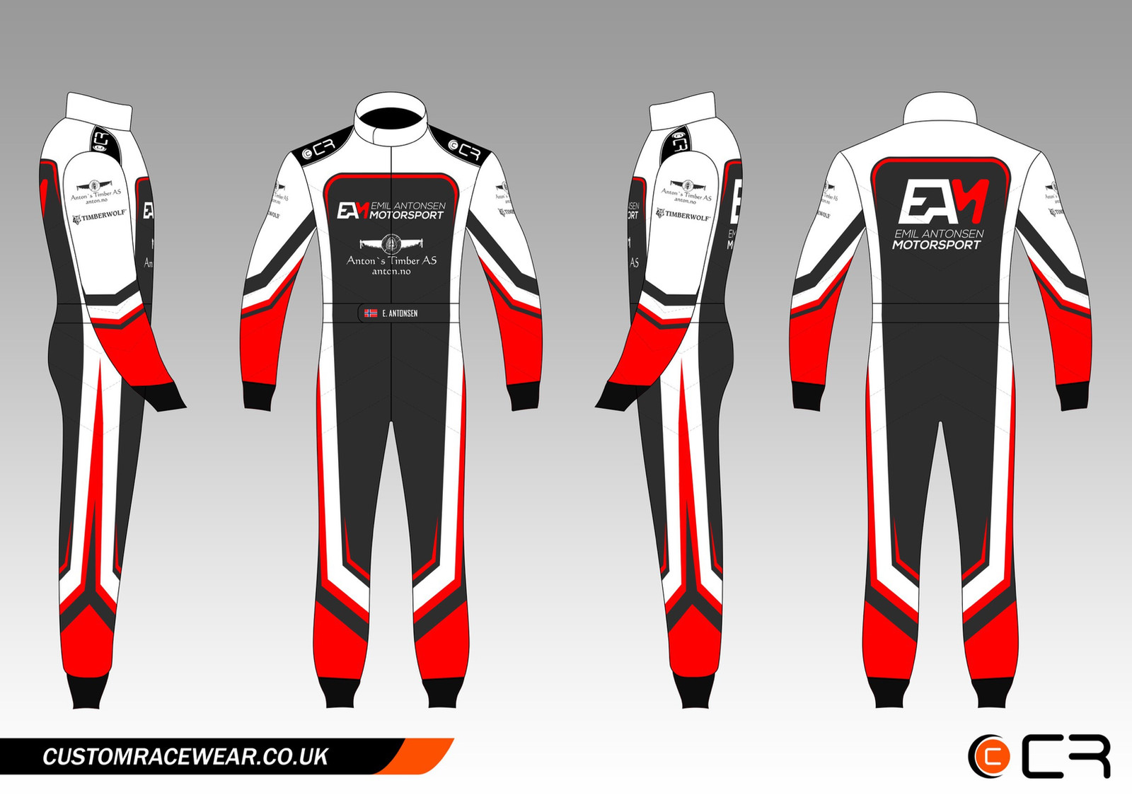Car Race Suit