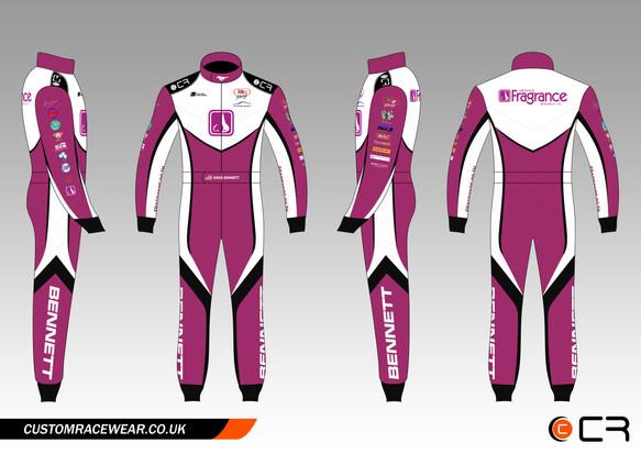Bennett Car Racing Suit
