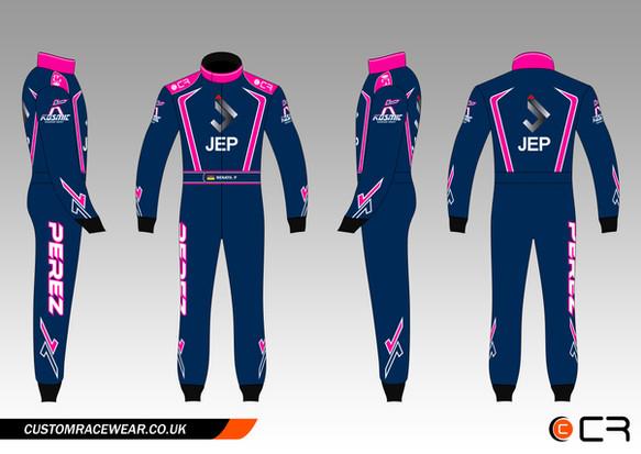 Perez Kart Suit