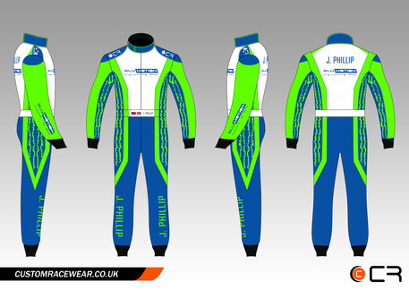 Custom Kart Suit