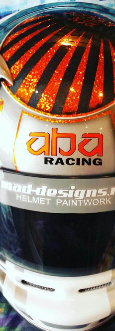 MAD DESIGNS Custom Painted Helmet