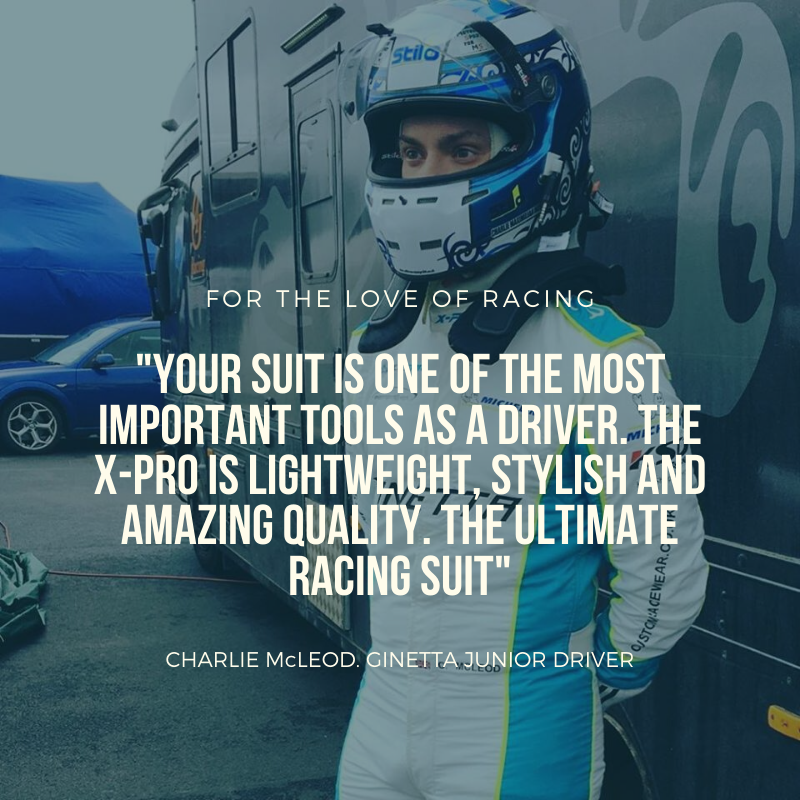 Made to measure race suit