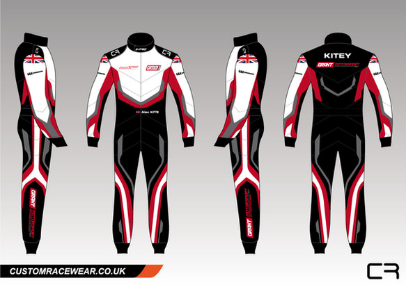 Alex Kite Custom Race Suit