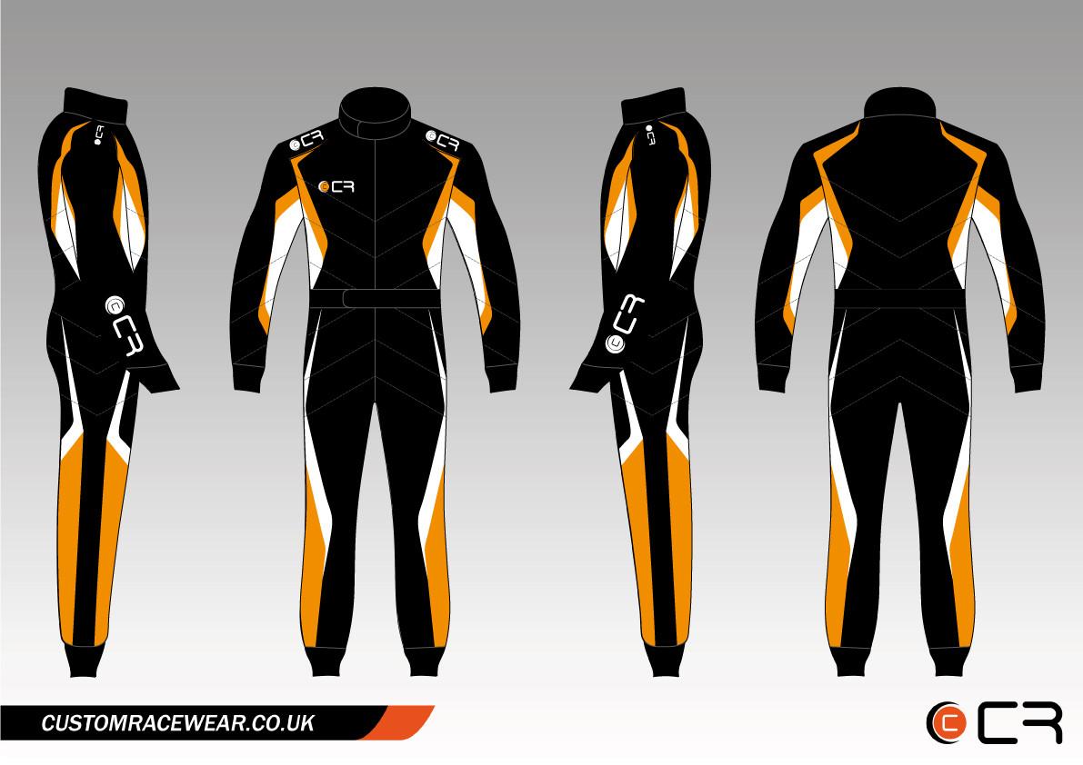 Custom Racewear Stock Range Kart Suit