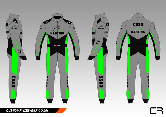 Custom Kart Suit Design