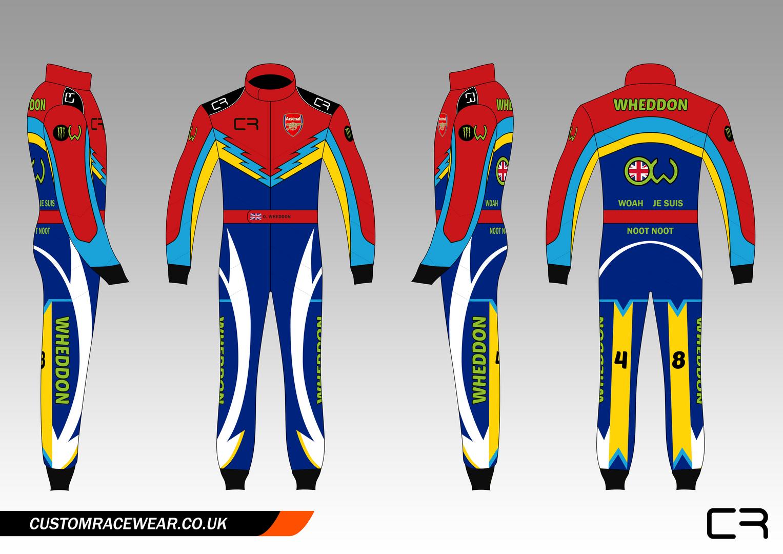 Wheddon Karting Suit Design