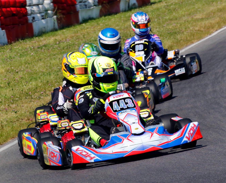 Steve Welsh Custom Kart Suit
