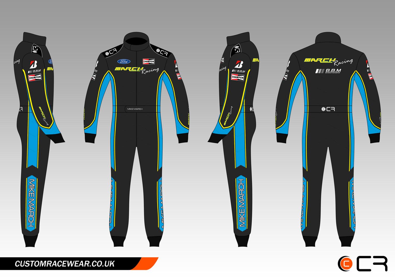 Mike March Race Suit