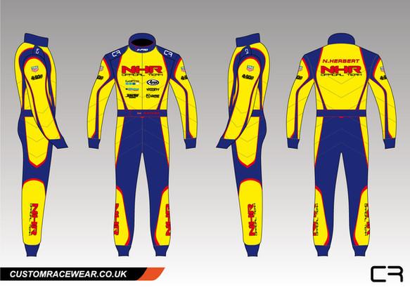 Customised Kart Suit