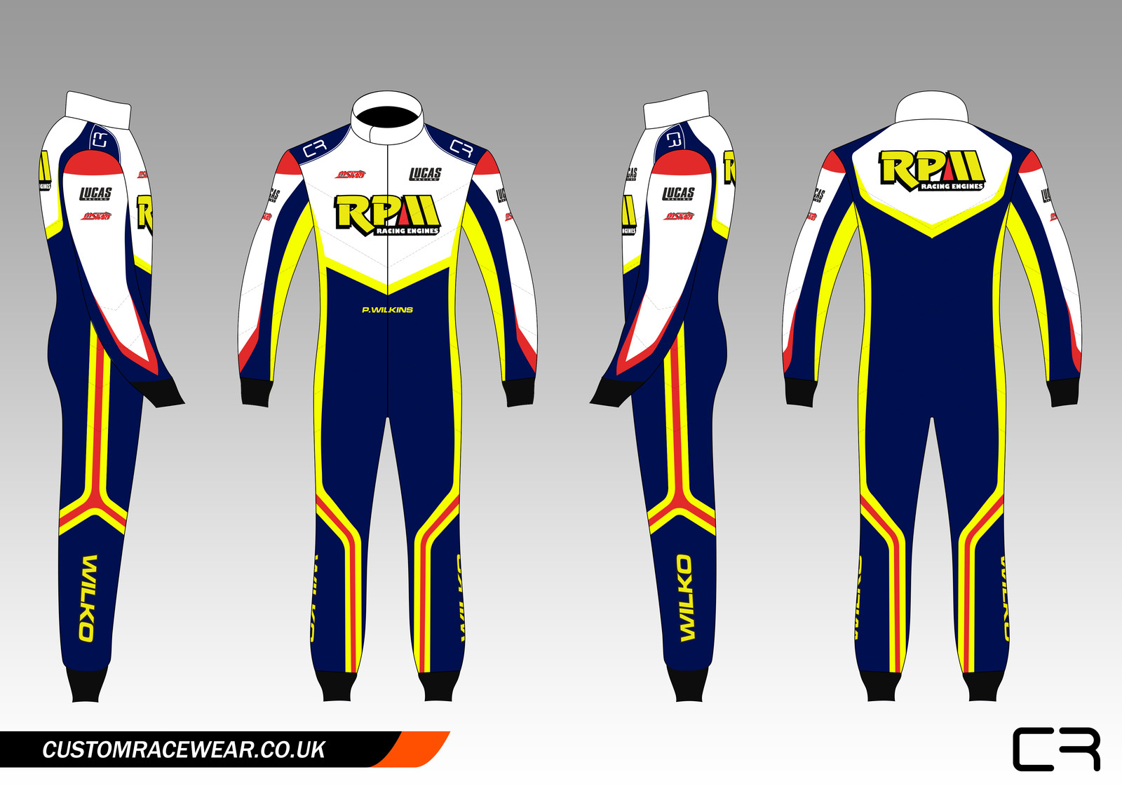 Custom Kart Suits Customised Karting Suits