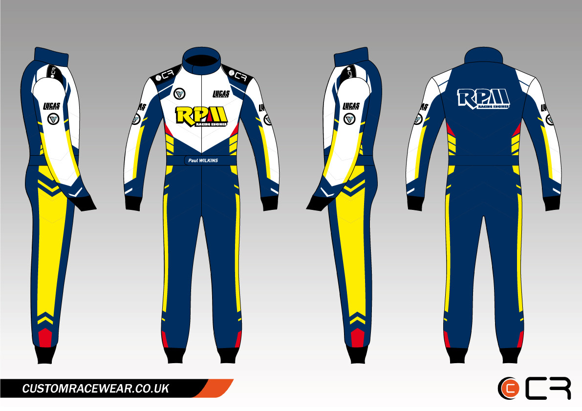 Customised Karting Suit