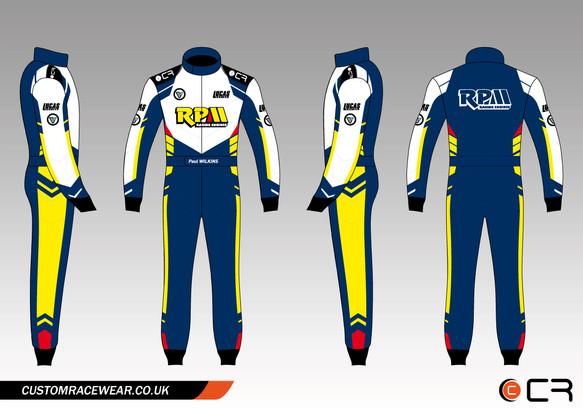 Customised Karting Suit