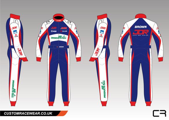 Glenn Brown X Pro Racewear