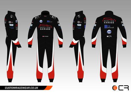 Rikki Taylor Car Race Suit