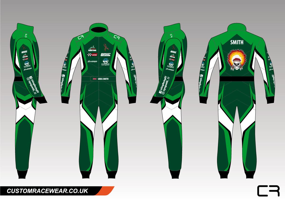 Greg Smith Custom Kart Suit