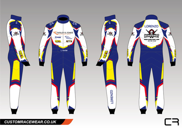Lorenzo Kordal Racewear