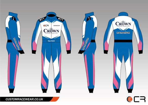 Custom Racewear Piers Prior Custom Kart Suit