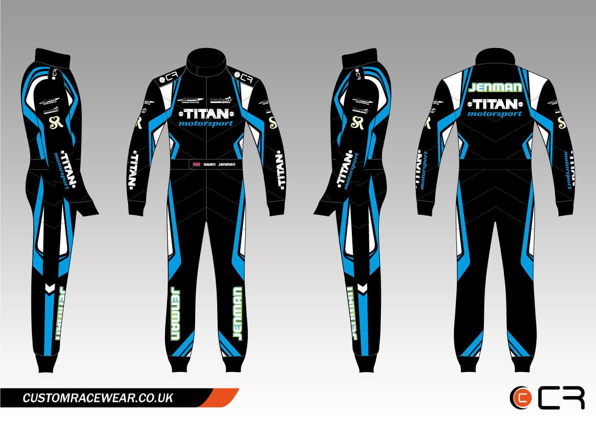 Titan Kart Suit
