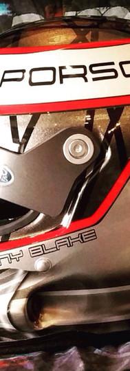 MAD DESIGNS Custom Painted Helmet