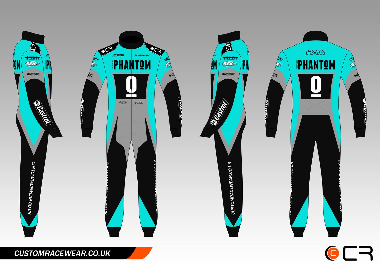 Simon Ham Kart Suit