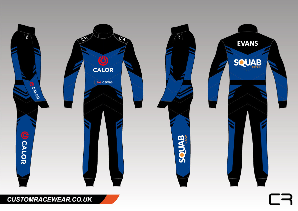 Custom Karting Suit