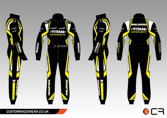 Team Titan Kart Suit
