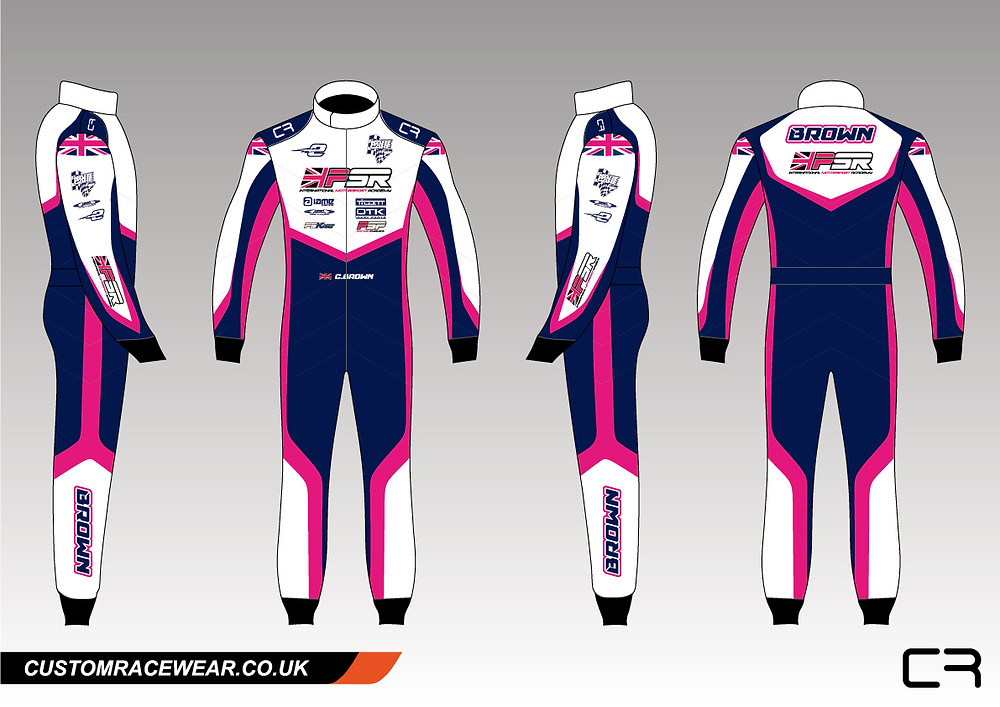 PSR Custom Kart Suit
