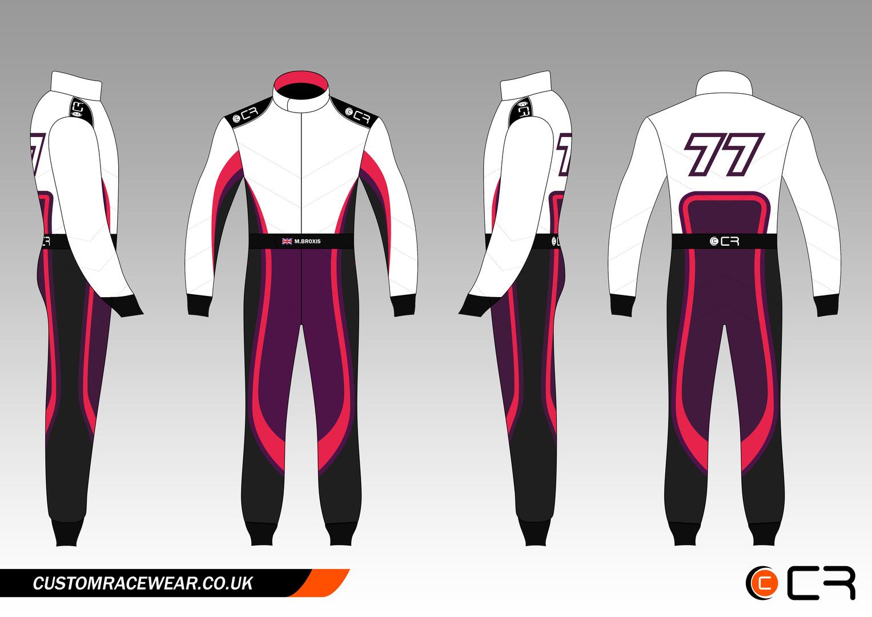 Mel Broxis Female Race Suit