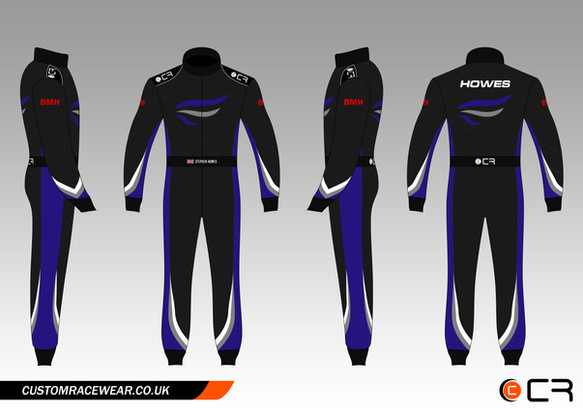 Karting Suit Design