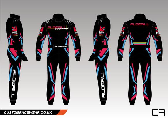 Alan Pattinson-Hillyard Racewear