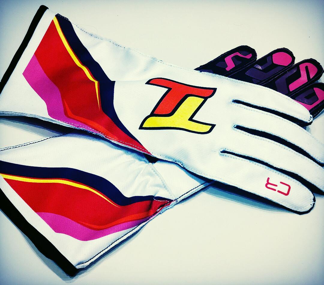 Custom Racewear Karting Gloves