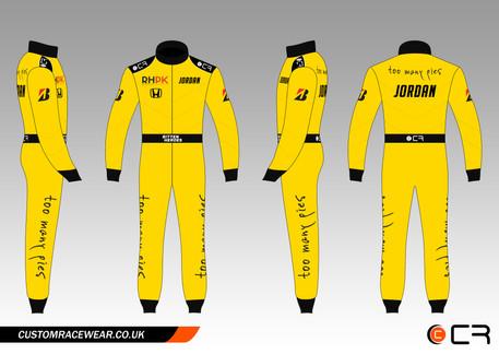 Custom Jordan Race Suit