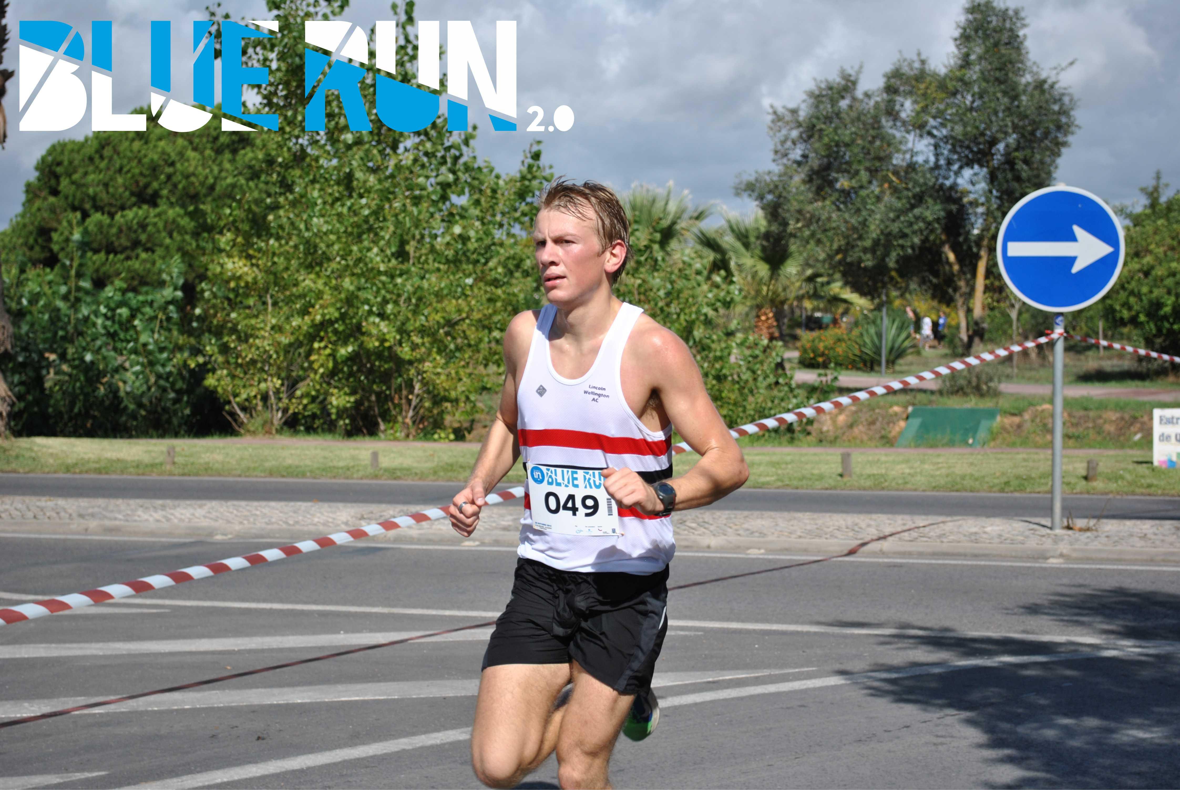 blue run 2.0 um evento para atletas