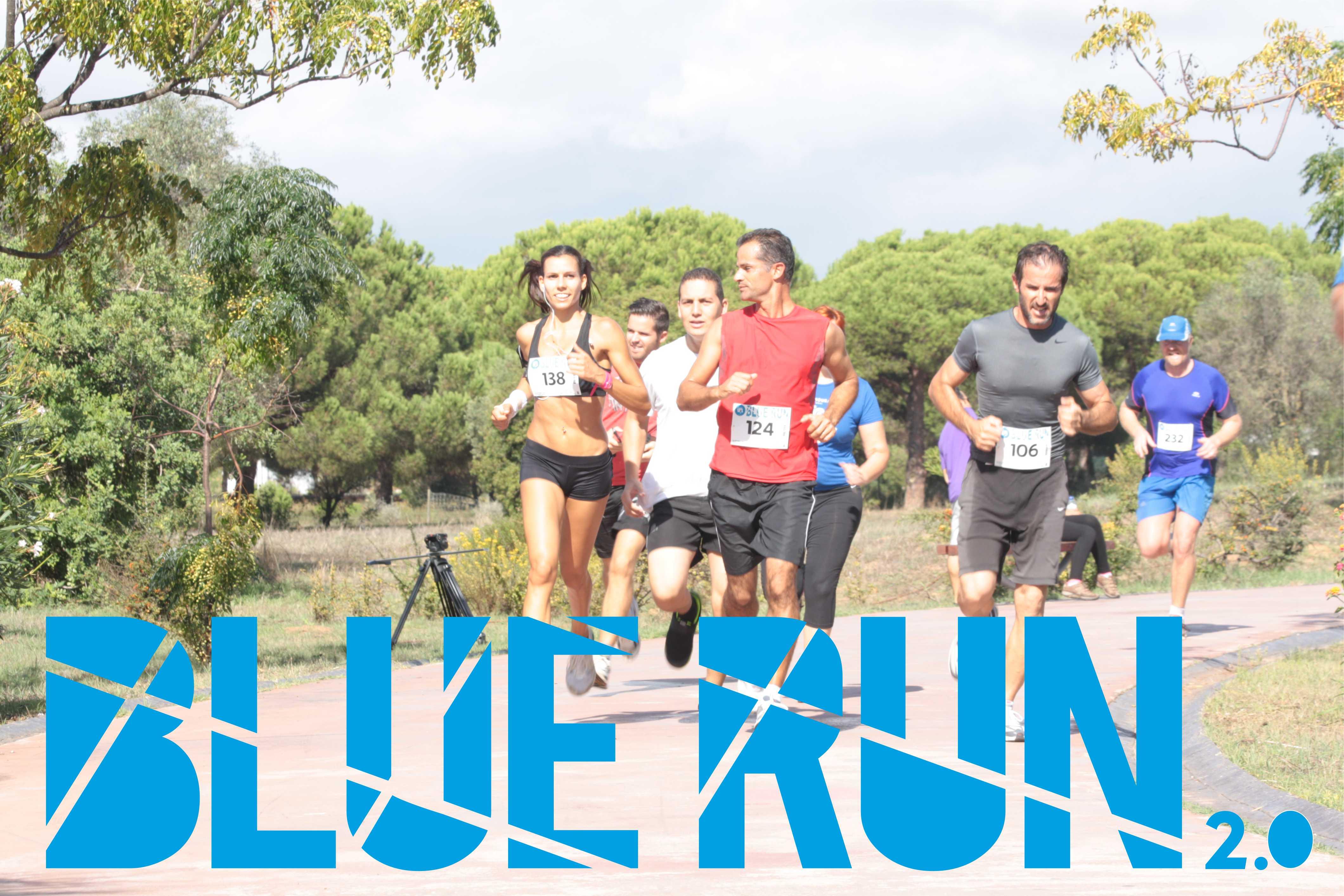 blue run 2.0 um evento para guerreiros