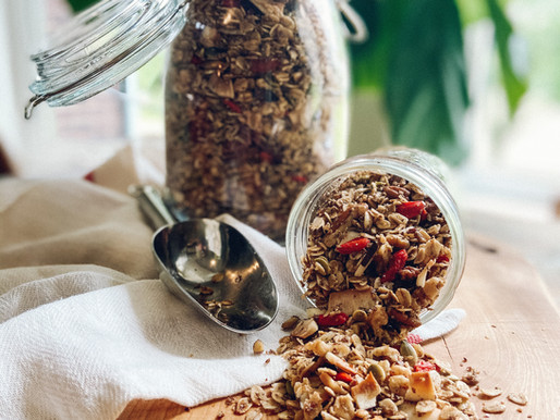 Superfood Granola? Yes, please!