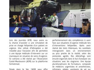 Article sur la formation secours d'urgence Héliporté