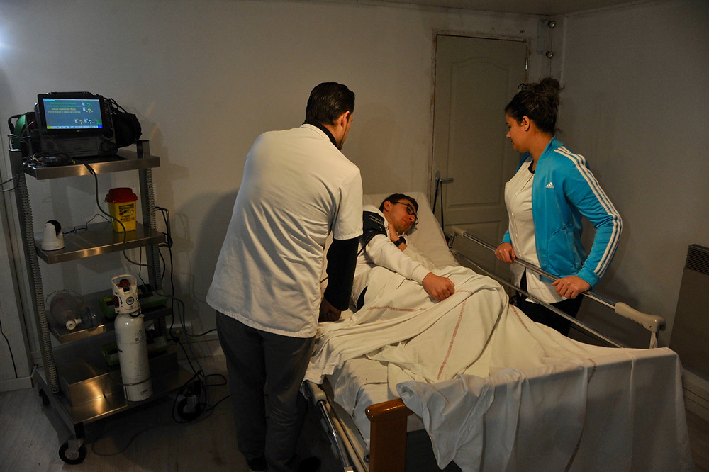 Simulation avec patient standardisé