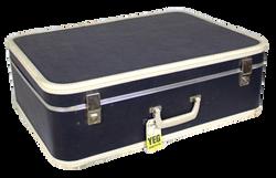 Navy Suitcase