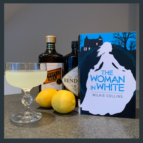 "Literary Cocktail: ""The Woman in White"""