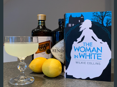 """Literary Cocktail: """"The Woman in White"""""""