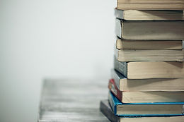 Side Stack of Books -- Photo by Sharon M
