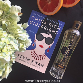 Literary Cocktail: The French Blonde from 'China Rich Girlfriend'