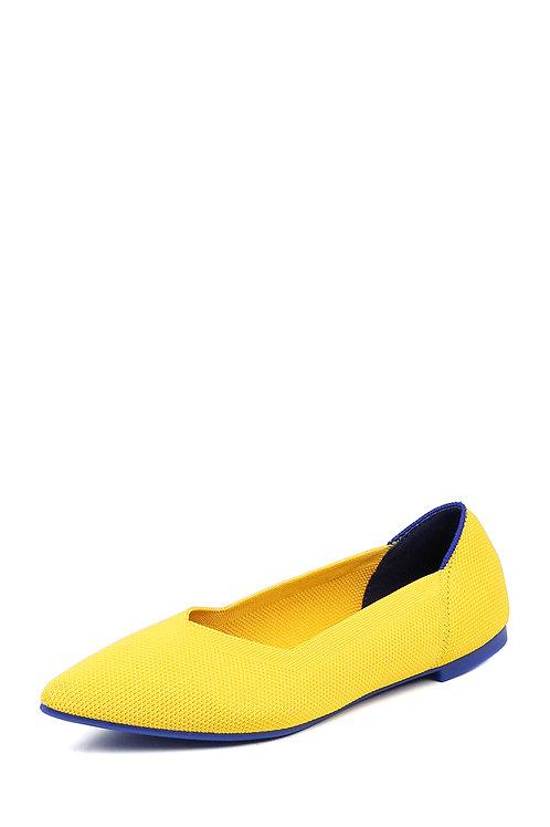 Балетки Air Point жёлтые
