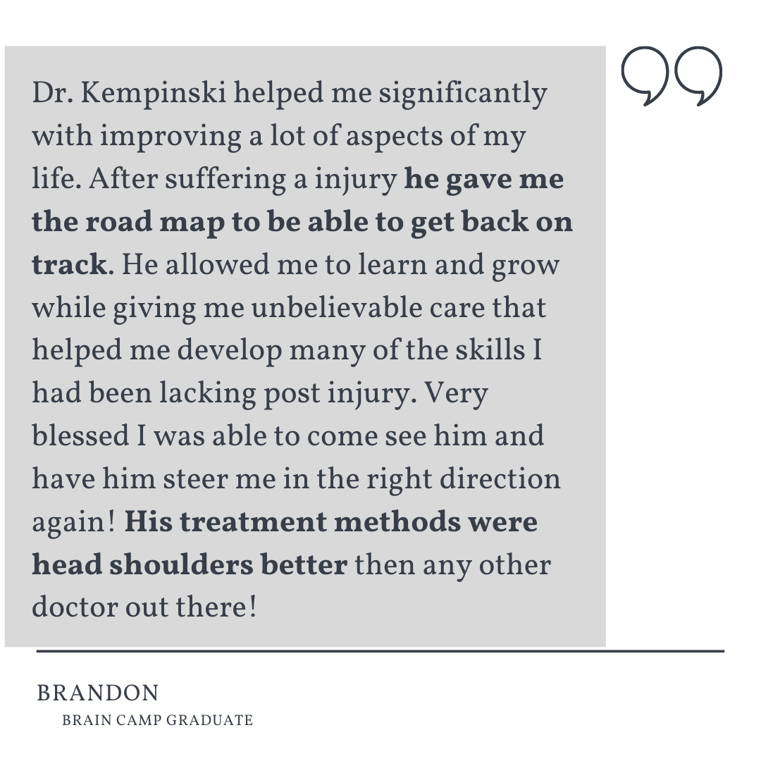THE KEMPINSKI CLINIC TESTIMONIAL