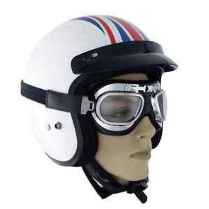 Classic Aviator Two Motorcycle Goggles GOGROD17