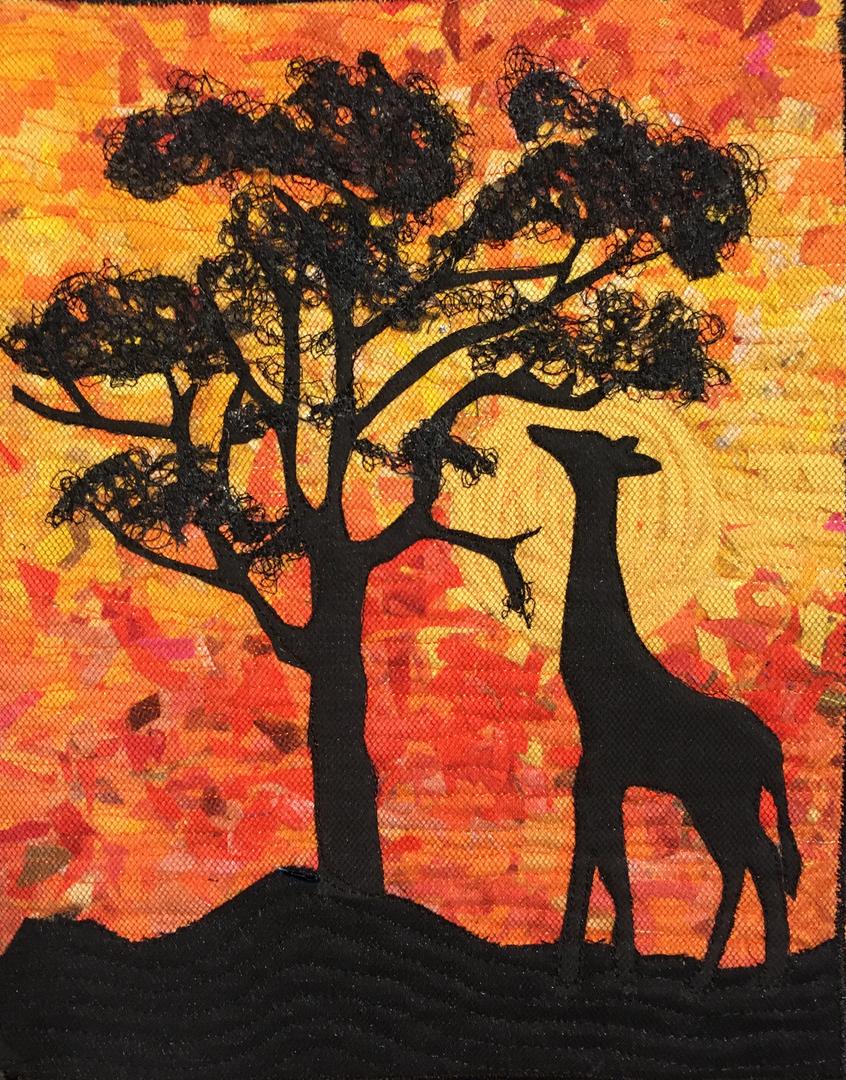 Giraffe and Acasia