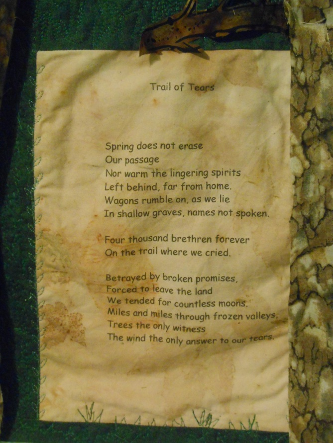 Trail of Tears - Poem