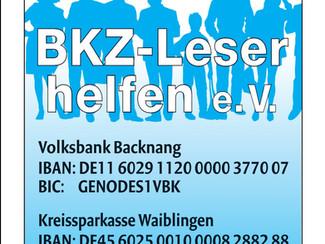 Besuch aus der Redaktion der Backnanger Kreiszeitung