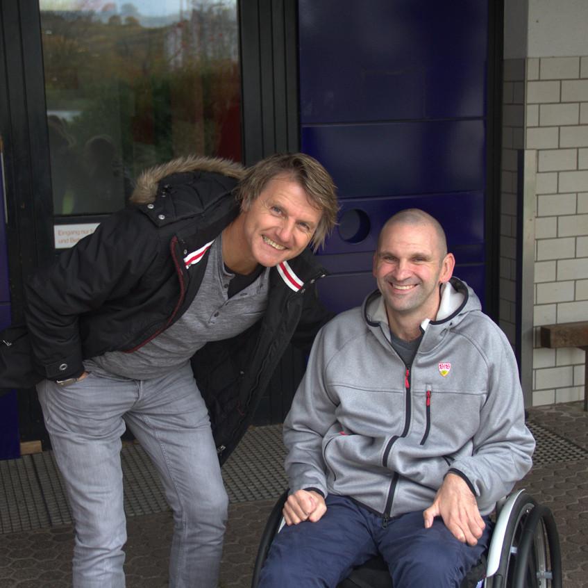 Micha beim VfB 2.11.2017 Legenden
