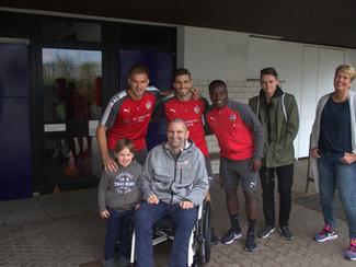 Unser Besuch beim VfB-Training am 2. November 2017